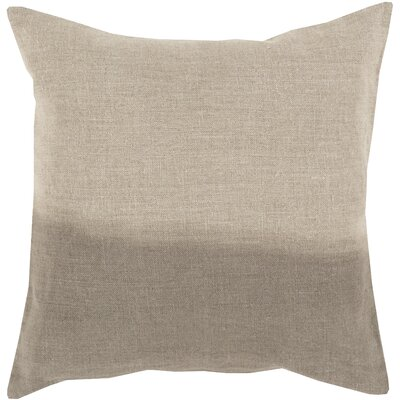 Hodge Throw Pillow Cover Size: 22 H x 22 W x 0.25 D, Color: NeutralBrown