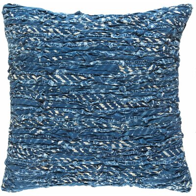Coral 100% Cotton Throw Pillow Cover