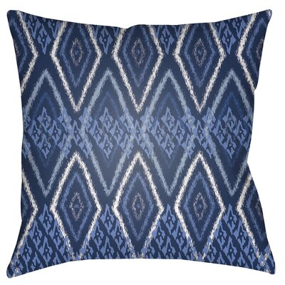 Chute Indoor/Outdoor Throw Pillow Size: 18 H x 18 W x 4 D