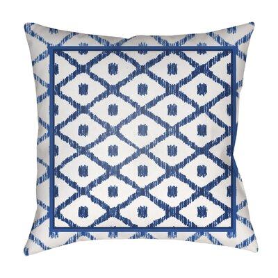 Hussain Indoor/Outdoor Throw Pillow Size: 18 H x 18 W x 4 D