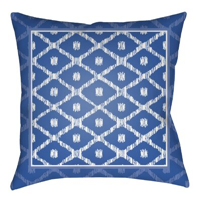 Idina Indoor/Outdoor Throw Pillow Size: 20 H x 20 W x 4 D