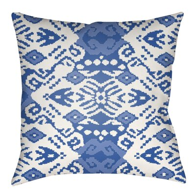Delahoussaye Indoor/Outdoor Throw Pillow Size: 18 H x 18 W x 4 D
