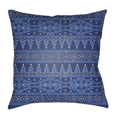 Delta Indoor/Outdoor Throw Pillow Size: 18 H x 18 W x 4 D