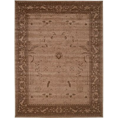 Imperial Dark Brown Area Rug Rug Size: 9 x 12