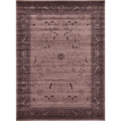 Imperial Dark Brown Area Rug Rug Size: 8 x 11