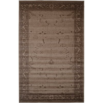 Imperial Dark Brown Area Rug Rug Size: 10 x 16