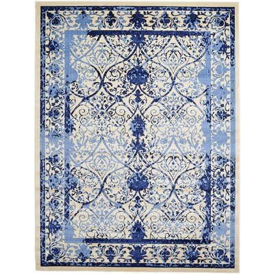 Imperial Blue Area Rug Rug Size: 9 x 12