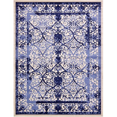 Imperial Blue Area Rug Rug Size: 12'2