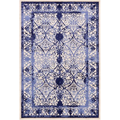 Imperial Blue Area Rug Rug Size: 6' x 9'