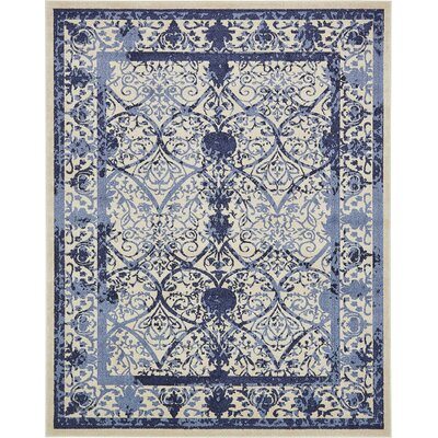 Imperial Blue Area Rug Rug Size: 8 x 10