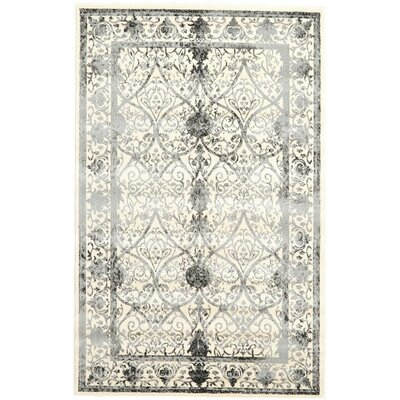 Imperial Ivory Area Rug Rug Size: 5 x 8