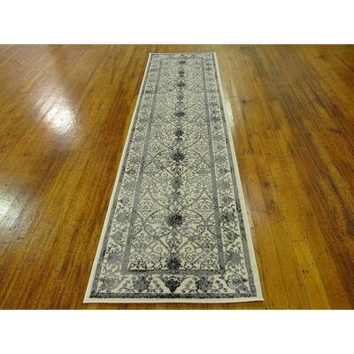 Imperial Ivory Area Rug Rug Size: Runner 27 x 10