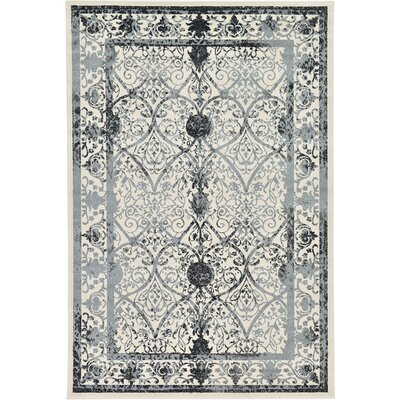 Imperial Ivory Area Rug Rug Size: 6 x 9
