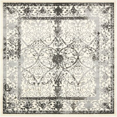 Imperial Ivory Area Rug Rug Size: Square 8
