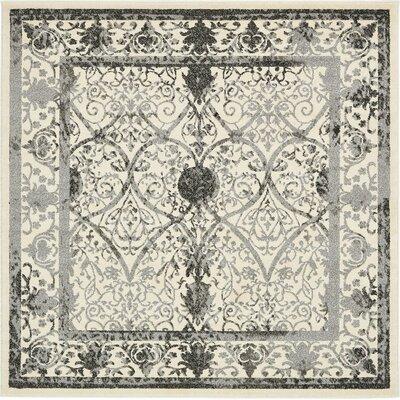 Shailene Ivory Area Rug Rug Size: Square 3