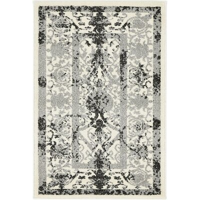 Imperial Ivory Area Rug Rug Size: 3 x 6