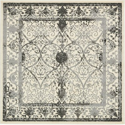 Imperial Ivory Area Rug Rug Size: Square 6