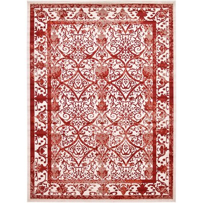 Castlewood Terracotta Area Rug Rug Size: Rectangle 10 x 13