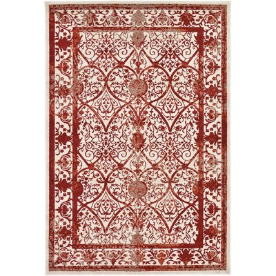 Castlewood Terracotta Area Rug Rug Size: Rectangle 6 x 9