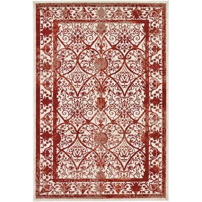 Imperial Burgundy Area Rug Rug Size: 6 x 9