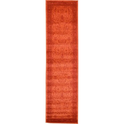 Imperial Rust Red Area Rug Rug Size: Runner 2'7