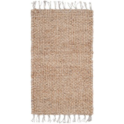 Macha Hand-Woven Natural Area Rug Rug Size: 23 x 4