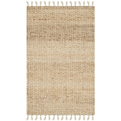 Macha Hand-Woven Natural Area Rug Rug Size: 3 x 5