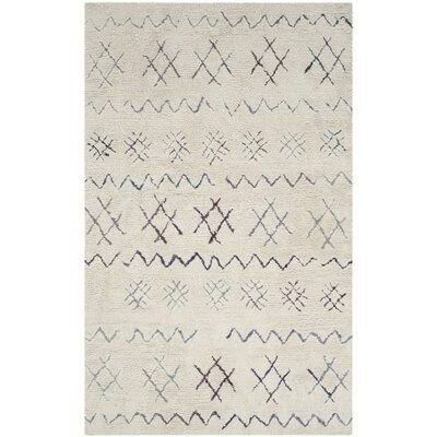 Lockheart Beige Area Rug Rug Size: Rectangle 5 x 8