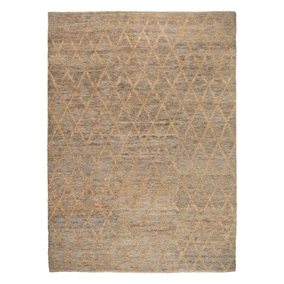 Mahie Hand-Woven Natural Area Rug Rug Size: 8 x 10