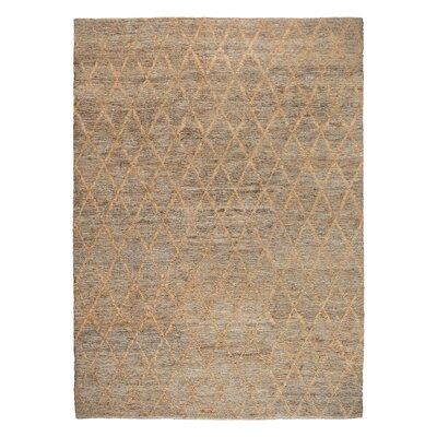 Gerardo Hand-Woven Natural Area Rug Rug Size: 8 x 10