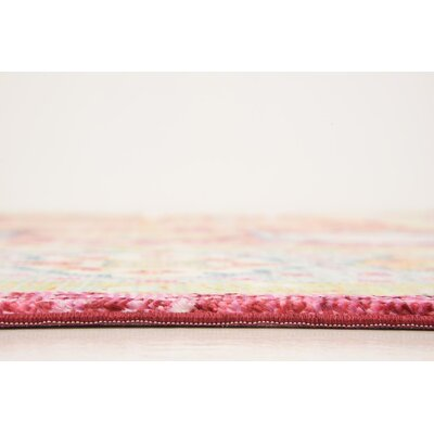 Bradford Red Area Rug Rug Size: Rectangle 9 x 12