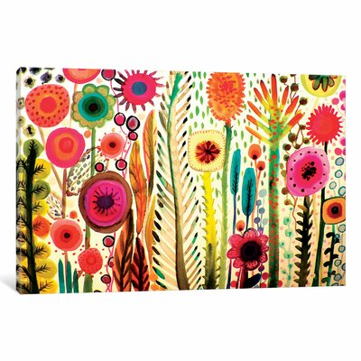 Printemps Painting Print on Wrapped Canvas