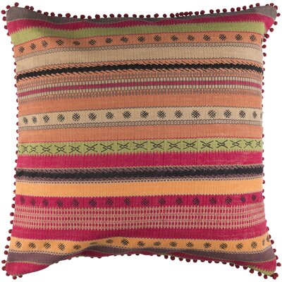 Fressia 100% Cotton Throw Pillow Cover Size: 30 H x 30 W x 1 D