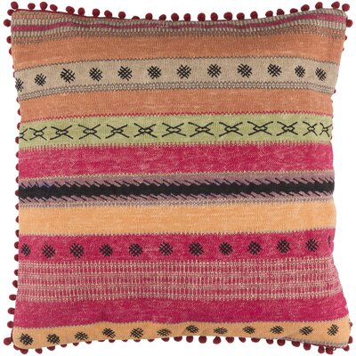Fressia 100% Cotton Throw Pillow Cover Size: 20 H x 20 W x 1 D