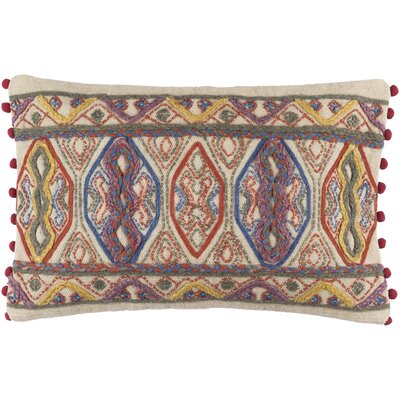 Fressia Geometric 100% Cotton Lumbar Pillow Cover