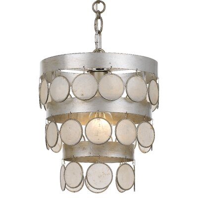 Dharamendra 1-Light Drum Pendant
