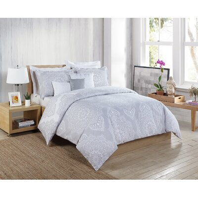 Diya 6 Piece Comforter Set Size: King
