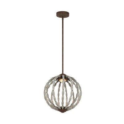London 1-Light Globe Pendant