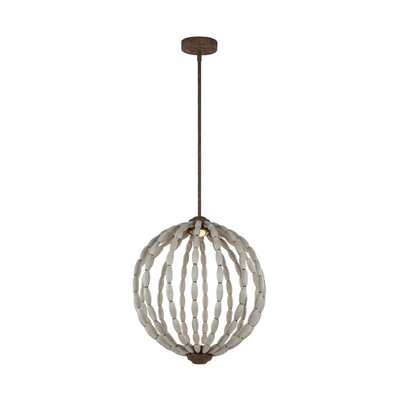 London 2-Light Globe Pendant Size: 78.5 H x 20 W x 20 D