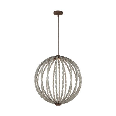 Furniture-Dutra 2 Light Globe Pendant Size 90.75 H x 32 W x 32 D