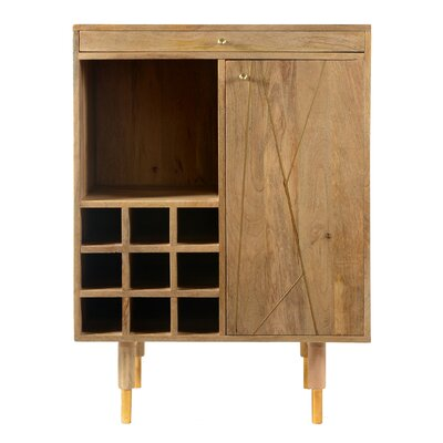 Caresse Bar Cabinet with Wine Storage