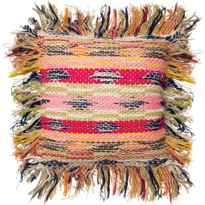 Aisha Fringed Edges Throw Pillow