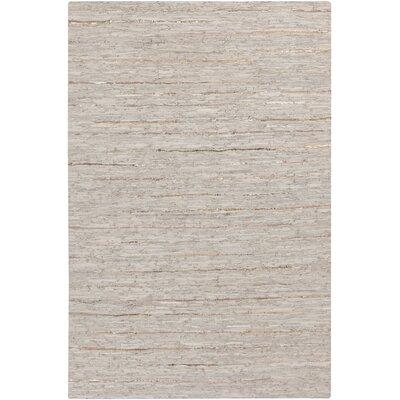 Hali Hand-Woven Gray Area Rug Rug Size: Rectangle 5 x 76