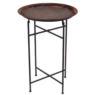 Downtown Round Folding Table Size: 28