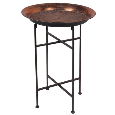 Downtown Round Folding Table Size: 23.5