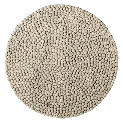 Charleen Hand-Woven White Area Rug