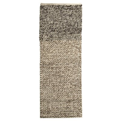 Fonteyne Hand-Woven Black/Brown Area Rug