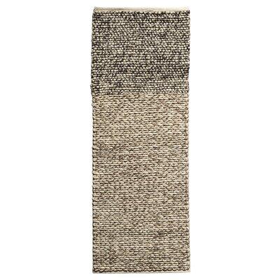 Fonteyne Hand-Woven Black/Brown Area Rug