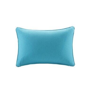 Azura Outdoor Throw Pillow Color: Aqua