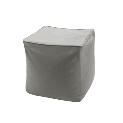 Azura Ottoman with Cushion Upholstery: Taupe
